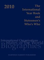 Cover The International Year Book and Statesmen's Who's Who 2010
