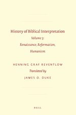 Cover History of Biblical Interpretation