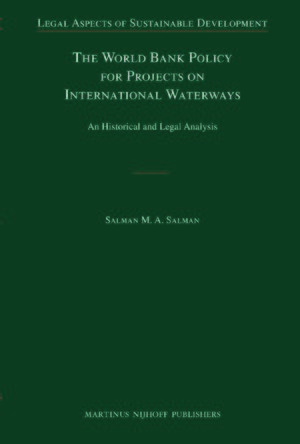 Cover The World Bank Policy for Projects on International Waterways