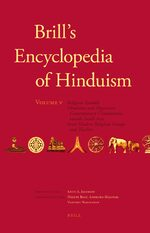 Cover Brill's Encyclopedia of Hinduism. Volume Five