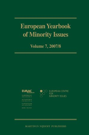 European Yearbook of Minority Issues, Volume 7 (2007/2008)