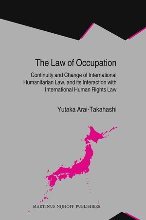 Cover The Law of Occupation