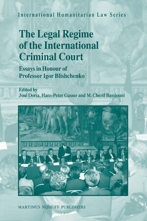 Cover The Legal Regime of the International Criminal Court