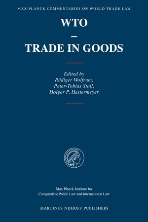 Wto Trade In Goods