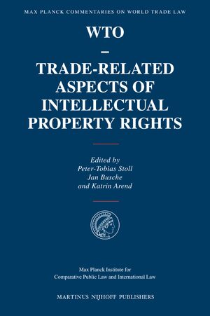 Cover WTO - Trade-Related Aspects of Intellectual Property Rights