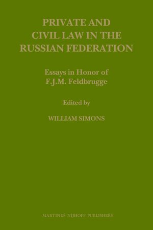 Cover Private and Civil Law in the Russian Federation
