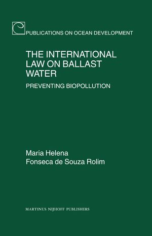 Cover The International Law on Ballast Water