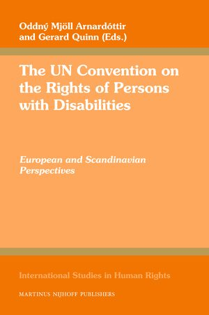 Cover The UN Convention on the Rights of Persons with Disabilities