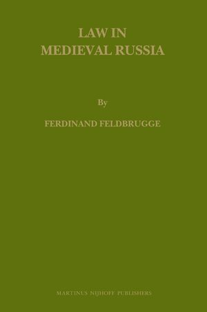 Cover Law in Medieval Russia