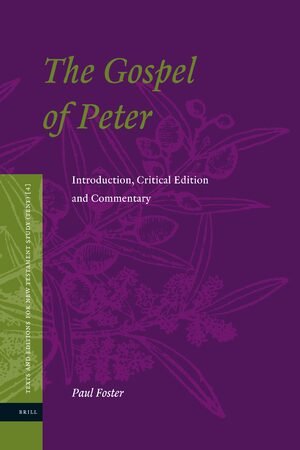 Cover The Gospel of Peter