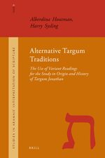 Cover Alternative Targum Traditions