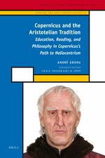 Cover Copernicus and the Aristotelian Tradition