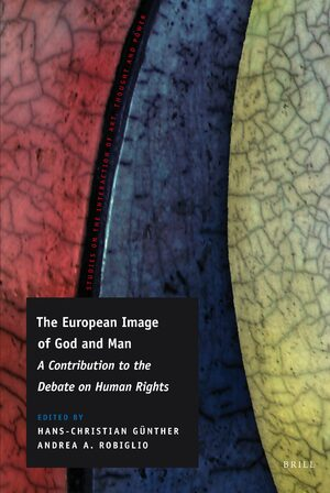 Cover The European Image of God and Man