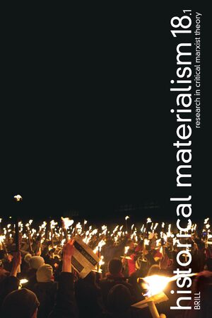 Cover Historical Materialism. Volume 18, issue 1 (2010)