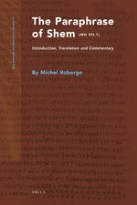 Cover The Paraphrase of Shem (NH VII,1)