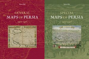 Cover Maps of Persia (2 vols)