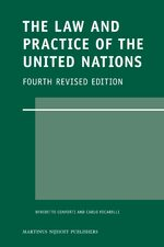 Cover The Law and Practice of the United Nations