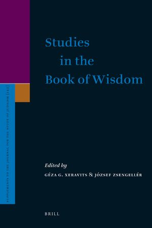 Cover Studies in the Book of Wisdom