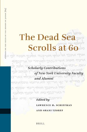 Cover The Dead Sea Scrolls at 60