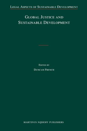 Cover Global Justice and Sustainable Development