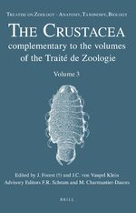 Cover Treatise on Zoology - Anatomy, Taxonomy, Biology. The Crustacea, Volume 3