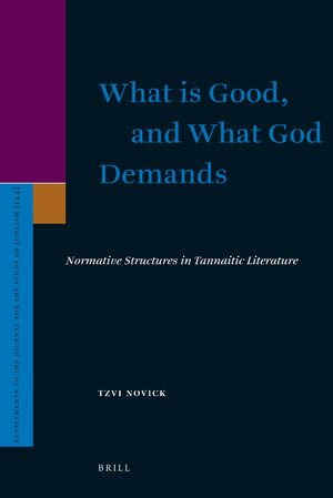 Cover What is Good, and What God Demands