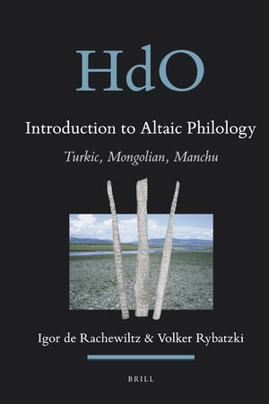 Introduction to Altaic Philology