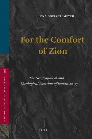 Cover For the Comfort of Zion