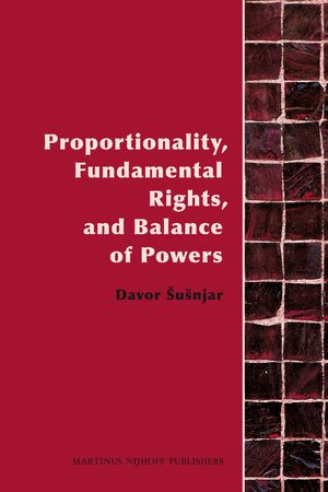 Cover Proportionality, Fundamental Rights and Balance of Powers