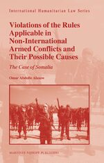 Cover Violations of the Rules Applicable in Non-International Armed Conflicts and Their Possible Causes