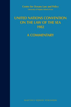 Cover United Nations Convention on the Law of the Sea 1982, Volume VII