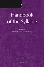 Cover Handbook of the Syllable