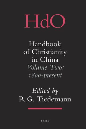 Handbook of Christianity in China