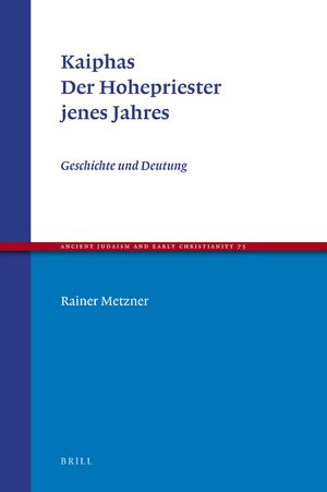 Cover Kaiphas. Der Hohepriester jenes Jahres