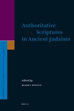 Authoritative Scriptures in Ancient Judaism