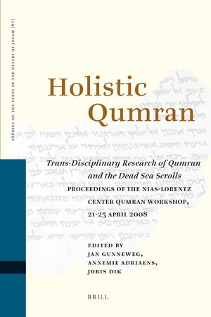 Cover Holistic Qumran