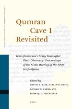 Qumran Cave 1 Revisited