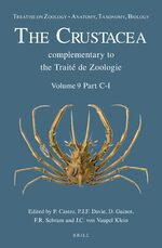 Cover Treatise on Zoology - Anatomy, Taxonomy, Biology. The Crustacea, Volume 9 Part C (2 vols)