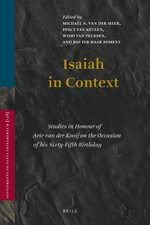 Cover Isaiah in Context