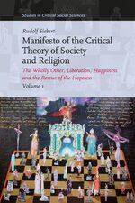 Manifesto of the Critical Theory of Society and Religion