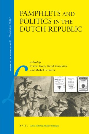 Cover Pamphlets and Politics in the Dutch Republic