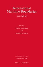 Cover International Maritime Boundaries
