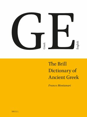 Cover The Brill Dictionary of Ancient Greek