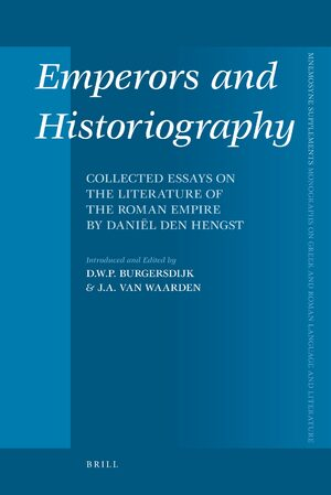 Cover Emperors and Historiography