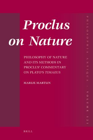 Cover Proclus on Nature