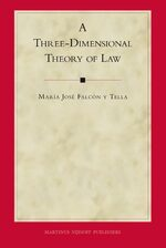 Cover A Three-Dimensional Theory of Law