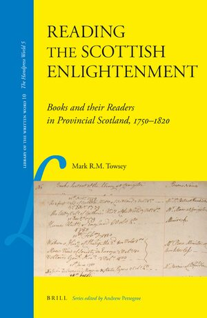 Cover Reading the Scottish Enlightenment