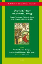 Cover Between Lay Piety and Academic Theology