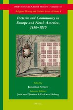 Cover Pietism and Community in Europe and North America, 1650-1850