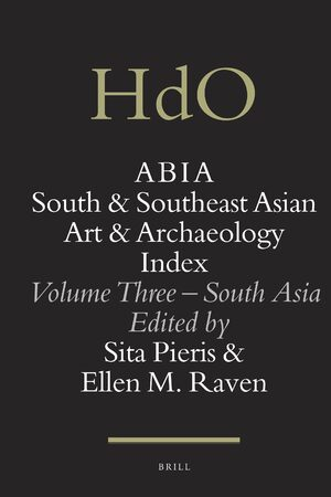 Cover ABIA: South and Southeast Asian Art and Archaeology Index